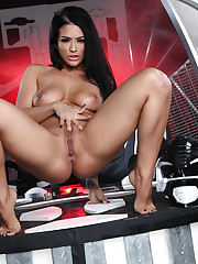 Brazzers brunette babe with..