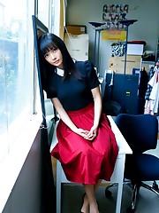 Virgin japanese model Erica Tonooka in..
