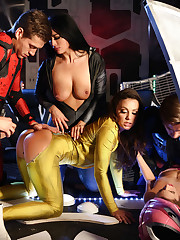 Super-hot porn parody with famous..