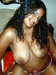 Amateur pics of huge-chested latina..