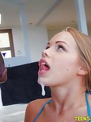Big Tits Teen Britney Virgin Gargles..