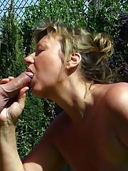 Mature porn pics including facial..