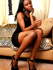 Dark-hued chick takes off her lengthy..