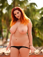 Lucy Vixen Black Thong Seduction FoxHQ