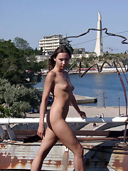 nude-in-russia introduce young lady..