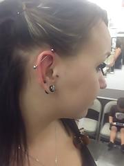Industrial Piercing - Body Piercing..
