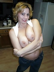 Titted superslut exposes her pussy and..