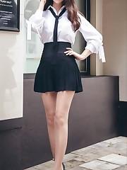 Chinese schoolgirl uniform Chinese..