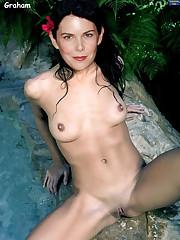 Lauren graham nude mongoles - Softcore..