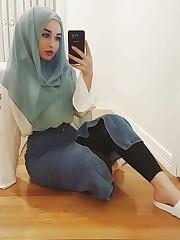 Turkish Hijab Bitch Sera German Kapali..
