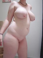 Ginger bbw pallid lush redhead-nude..