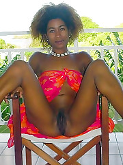 Pitch ebony pussy homemade images
