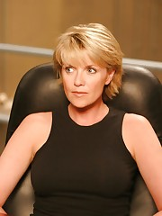 Amanda Tapping being fucked in gonzo..