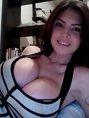 Beauties with royal boobs, gigantic size