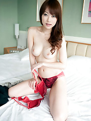 Bare mature asian cougar with big..