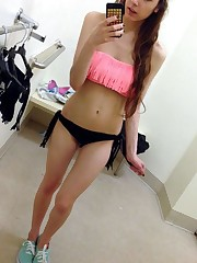 Nude selfies from teenager coed Clara