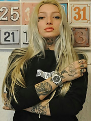 Stunning tattooed babes and goths,  bevy