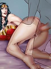 Wonder Chick getting analed Porn..