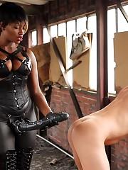Strap on dominance mischievous anal..