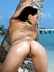 Mixed asian chicks exposing their nude..
