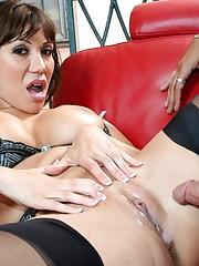 Uber-cute abd sexy Ava Devine getting..