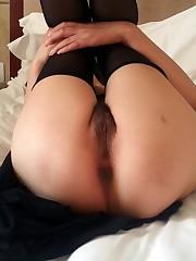Skinny asian mega-bitch with super-cute..