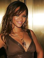 Fotos de Rihanna en su primera etapa..