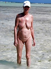 Absolutely nude beach mature women