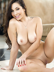 Big tits babe from brazzers