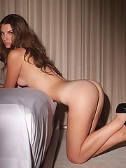 Yankee model Andrea Yurko naked for..