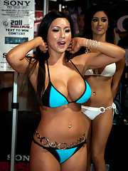 Big-chested Chinese Bikini Nipple Glide