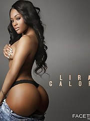 The Sexiest Ebony Model:  Pictures Lira..