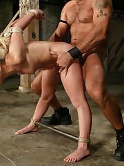 Stellar slave girl gets bound and..