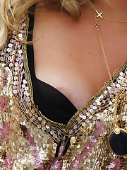 Ke $ha Nipple Slip During The Much..